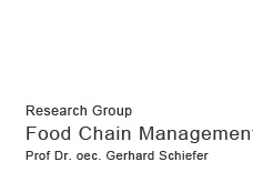 Research Group Food Chain Management